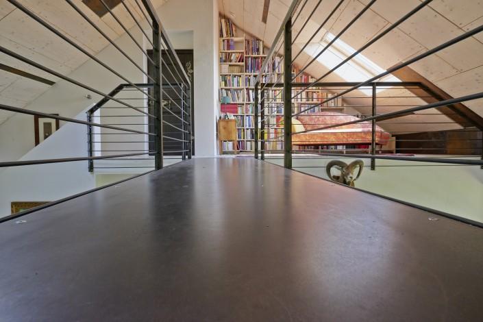 Foto Brücke Bibliothek Haus