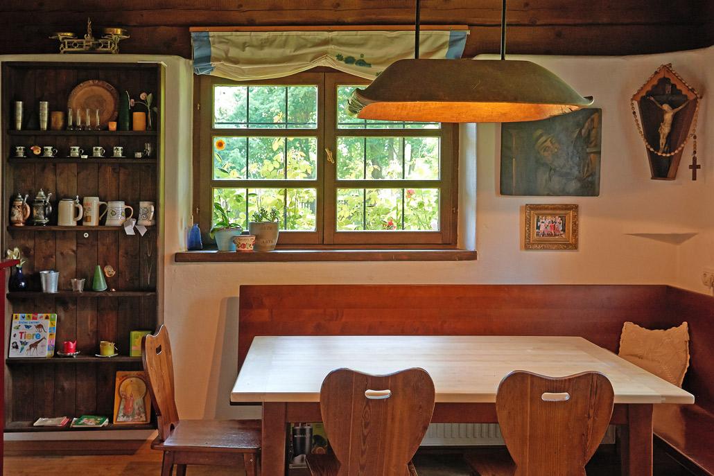 Foto der Küche des Referenzprojektes Haus Stampfer