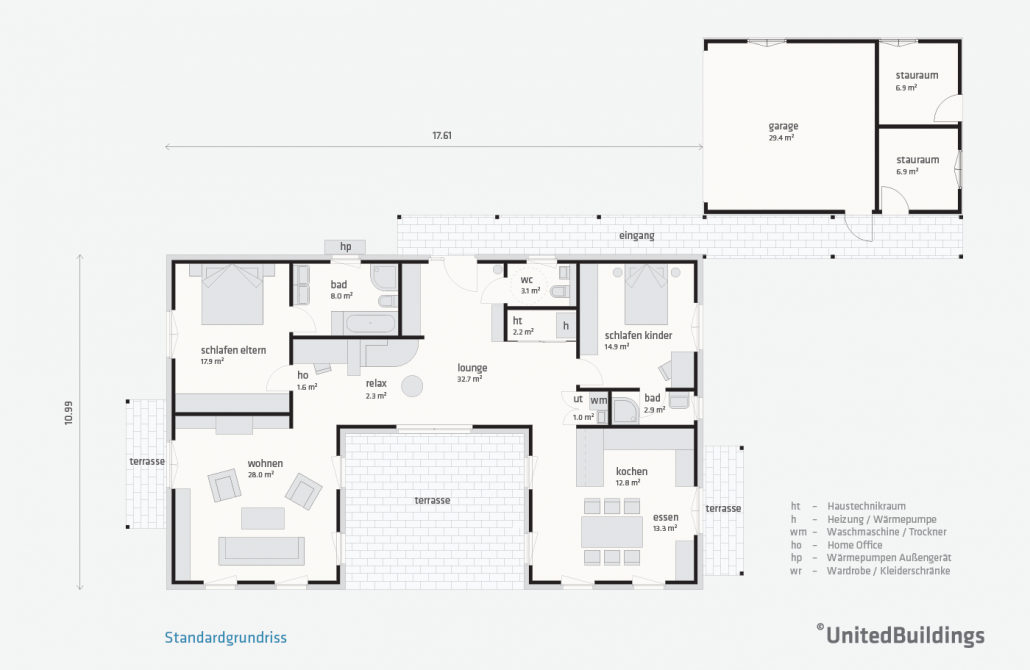 atrium one 04 united buildings. Black Bedroom Furniture Sets. Home Design Ideas