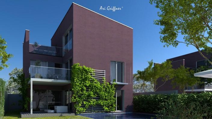 Special 02 in modernem Design mit Flachdach und asymmetrischer Fensteranordnung