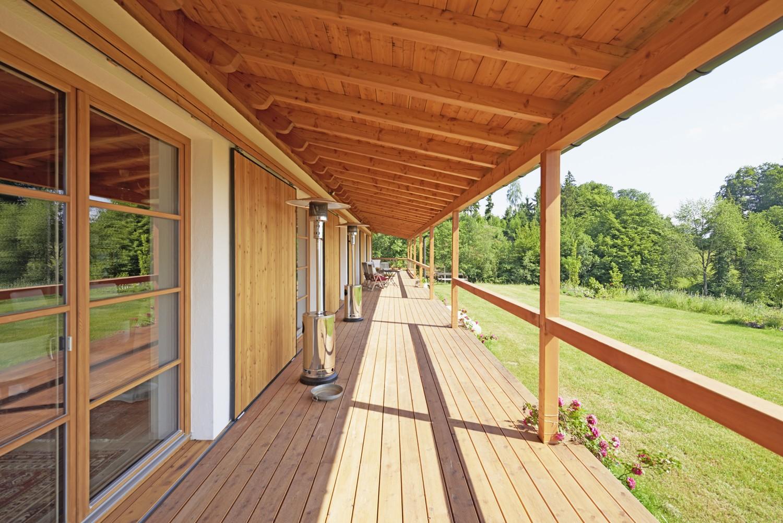 Foto der Veranda des Hauses -UB best practice
