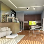 Foto Innenraum modern