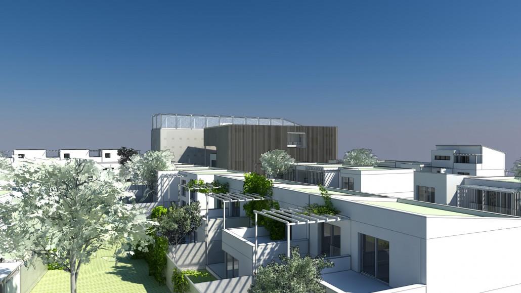 Overview Visualiserung Einfamilienhaus Habitat